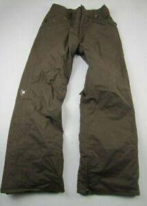 Womens XS Burton brown insulated snowboarding pants