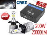 H4 LED 110W 30000LM Lampadine del Faro Kit CREE Chip Bulbi Auto Luci Xenon 6000K