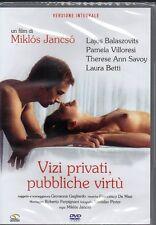 VIZI PRIVATI, PUBBLICHE VIRTU' - DVD (NUOVO SIGILLATO) MIKLOS JANCSO