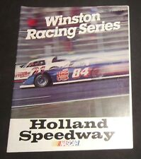 1983 Holland NY Speedway Event #6 Program