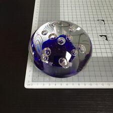 Schönes Paperweight / Briefbeschwerer Glas Kugel Ø 10cm