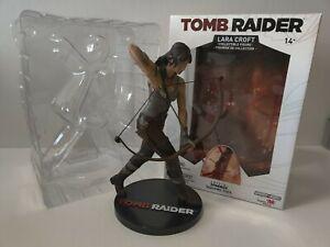 Tomb Raider Lara Croft Statue Figure Figurine GameForged RARE Merchandise PS4