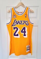 100% Authentic Mitchell and Ness Kobe Bryant Los Angeles Lakers 2007-08 Jersey