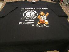 Brooklyn Nets T-Shirt - Black - 2XL - NBA - Deron Williams