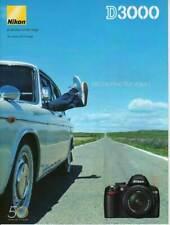 NIKON brochure pub. D3000 édition 07/2009 en français