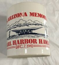 U.S.S Arizona Memorial Pearl Harbor Hawaii Mug