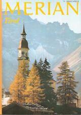 Merian Tirol Reiseführer Heft 11 / 1974 Jahrgang 27 Welt Reise Zeitschrift