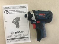 """New Bosch 12V Lithium Ion PS41B 1/4"""" Hex Cordless Impact Driver PS41"""
