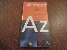allemand pratique de l'allemand de A a Z - jean janitza