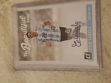 2018 Donruss Soccer Erik Lamela Auto The Beautiful Game