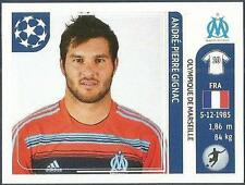 PANINI UEFA CHAMPIONS LEAGUE 2011-12- #377-MARSEILLE-ANDRE-PIERRE GIGNAC