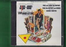 007 LIVE AND LET DIE OST COLONNA SONORA VIVI E LASCIA MORIRE CD NUOVO SIGILLATO