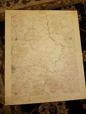 22x29 1909 USGS Topo Map Madisonville, Kentucky McNair School Hanson