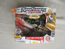 Transformers cybertron Action Figure Voyager Galaxy Force Vector Prime MISB New