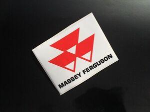 MASSEY FERGUSON STICKER DECAL X2
