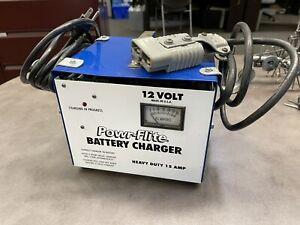 POWR FLITE EC-12 12V EQUIPMENT BATTERY CHARGER - PREOWNED