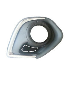 MITSUBISHI ASX XA 9/2012-ON LEFT HAND SIDE FOG LIGHT COVER WITH CHROME MOULD