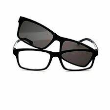 Tommy Clear Fully Magnified Lens Rubberized Flexible Square Frame Reading Glasse