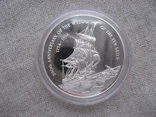 Cayman Islands: 2 DOLLARS silver 1994 Sailing ship PROOF KM #114