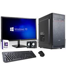 PC DESKTOP COMPLETO INTEL QUAD CORE WINDOWS 10/HD 1TB/RAM 8GB/3.0/HDMI/MONITOR22