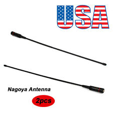 Nagoya Dual Band Ham Amateur Antenna SMA-Female for BaoFeng WOUXUN Kenwood 2pcs