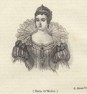 Maria de' Medici 1843  litografia