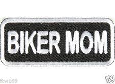 EMBROIDED PATCH BIKER MOM MUM 4 VEST CAP JACKET BIKE MOTORCYCLE HELMET BIKIE PAD