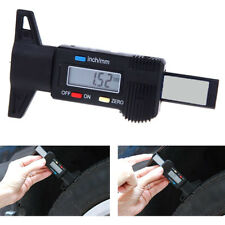 0-25.4MM Car Digital Tyre Tire Tread Depth Gauge Measurer Caliper LCD ASS