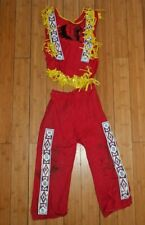 VINTAGE 1960's CHILDREN'S AMERICAN INDIAN WESTERN PLAY SUIT OUTFIT RARE  F597
