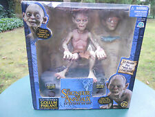 """LORD OF THE RINGS  GOLLUM ELECTRONIQUE PARLANT """" MINT IN BOX"""