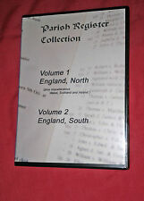 660+ Parish registre All Angleterre on 2x DVD (North & South) Genealogy Records