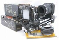 Minolta Auto Bellows I w/Focusing Rail, Slide Copier, Tube *MB
