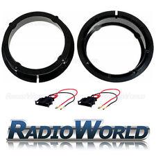 """VW Golf Bora / Beetle Front Rear Door Speaker Adaptors Rings Spacers 165mm 6.5"""""""