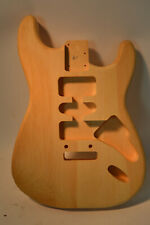 Unfinished Stratocaster Strat Guitar Body White Pine American Standard USA