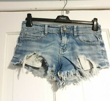 Excellent Condition Turn On Denim Hot Pants Size 6