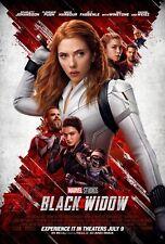 Black Widow Poster Avengers Art movie Studio Decal High Quality Prints Johansson