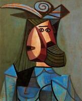Pablo Picasso Oil Painting Female Portrait Of Woman Dora Maar 100% Handmade