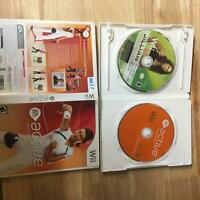 EA Active and Jillian Michaels Fitness Nintendo Wii 2 Game Bundle