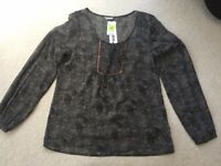 M&S hand embellished top. Size 12. New with tag. RRP £29.50