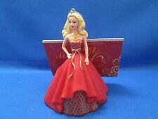Barbie~Holiday~2014~Ornament with tag~American Greetings