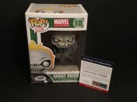 Stan Lee Signed Marvel Universe *Vaulted* Ghost Rider Funko Pop #18 *Retired PSA