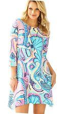 Lilly Pulitzer Edna Tile Wave Dress XXS NWT
