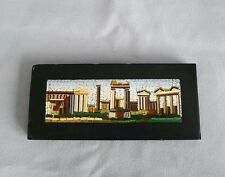 Antique Italian Beautiful Grand Tour micromosaic of Roman Ruins.