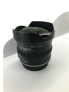 Canon EF 15mm f/2.8 fisheye lens Excellent Condition