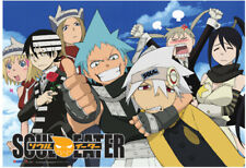 Soul Eater Sky Wall Scroll Poster Anime Manga NEW