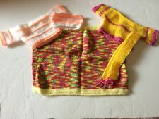 Baby Annabell Dolls Clothes Bundle - Hand Knitted
