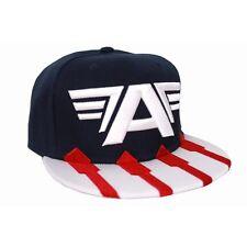 MARVEL COMICS CAPTAIN AMERICA CIVIL WAR NAVY BLUE COSTUME SNAPBACK CAP HAT (NEW)
