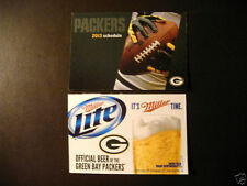 Green Bay Packers Football Vintage Sports Schedules