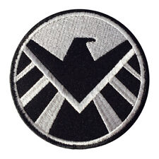 Shield Marvel Superhero Logo Patch Iron On Sew On Badge Embroidered Patch