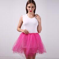 Women/ Adult Tulle Organza Dancewear Tutu Ballet Pettiskirt Princess Party Skirt
